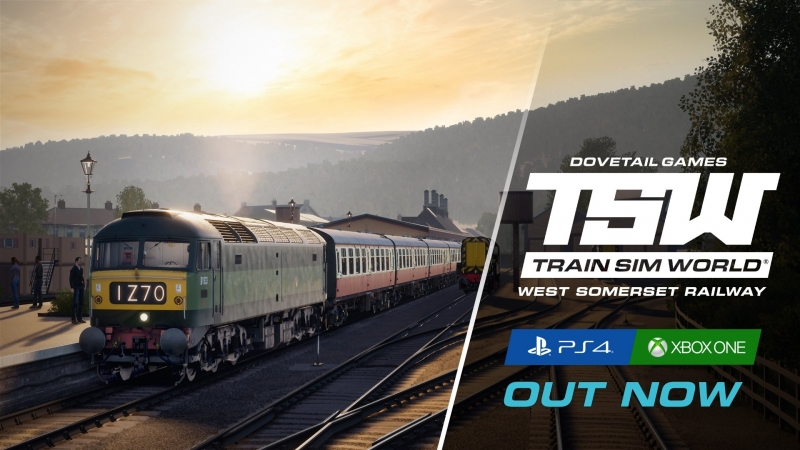 Train Sim World West Somerset Railway уже доступно на PlayStation 4 и Xbox One!