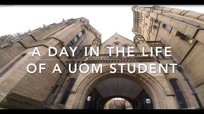 Student vlogs A day in a life of a Manchester student
