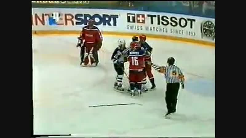 2003.04.29 Чемпионат Мира 2003. 1-й групповой этап. Россия - США