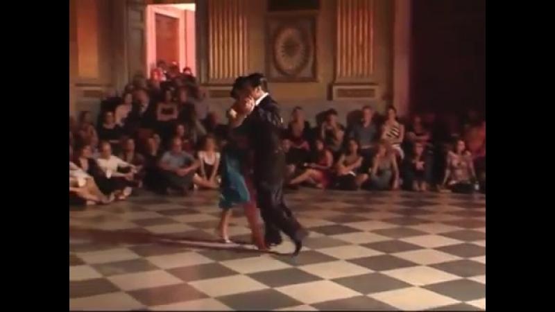 Милонга. Roxana Suarez y Sebastian Achaval - Milonga Brava - 10°Genova Tango Festival