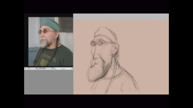 Sketching with Jason Seiler Part 2