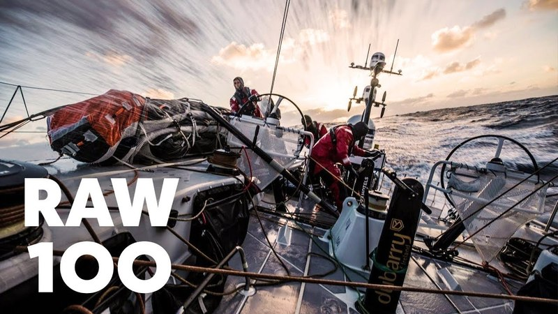 RAW 100Southern Ocean sailing in the Volvo Ocean Race.