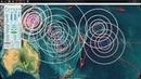 12/23/2018 -- Large volcanic blast in Indonesia -- Tsunami hit -- Major seismic unrest underway now