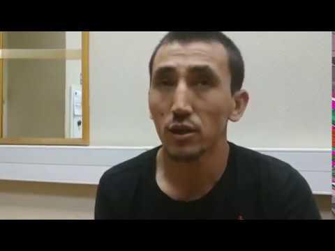 Допрос таксиста из Киргизии, сбившего людей на тротуаре в центре Москвы.