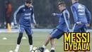 Messi y Dybala juntos en la Selección Argentina (ESPN)