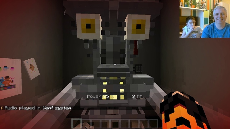 FNAF Minecraft (скримеры)