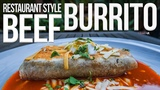 The Best Restaurant Style Beef Burrito SAM THE COOKING GUY 4K