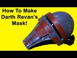 How to Make Darth Revan's Mask (Star Wars DIY)