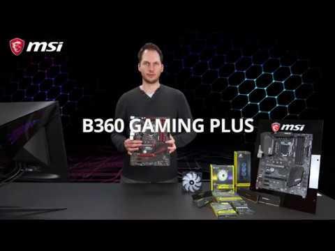 Обзор MSI B360 GAMING PLUS