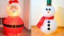 4 Muñecos de nieve que puedes hacer esta Navidad