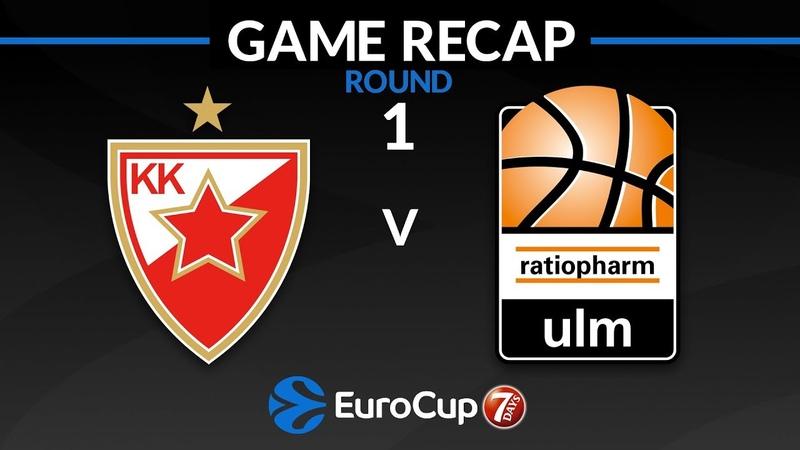 Highlights Crvena Zvezda mts Belgrade Ratiopharm Ulm