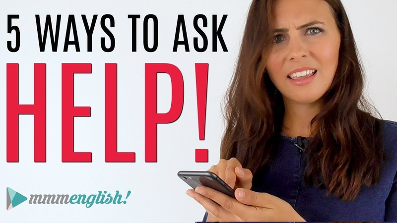 How To Ask for Help in English | Common Expressions spon