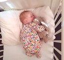 Только когда подходишь к кроватке, где спит твой маленький малыш…