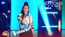 Kennedy Holmes' Cover of Adele's Turning Tables Gets FOUR TURNS The Voice 2018 Blind Auditions