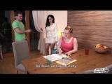 Alex Black, Alex Ginger - Foxy Stepmother PORN, HD 1080, Anal, Incest, Stepmother, Redhead, Threesome