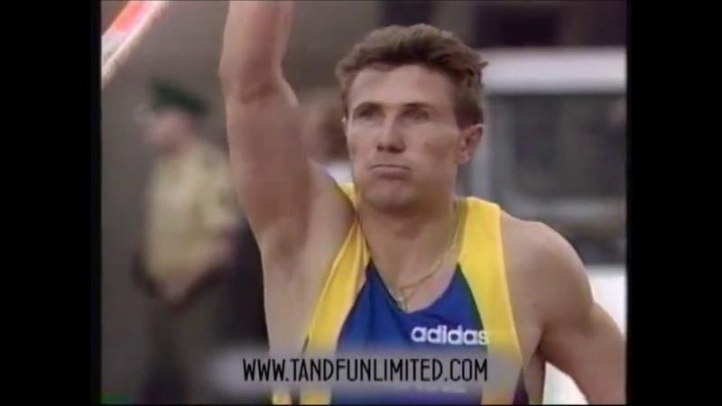 Сергей Бубка до сих пор непобитый рекорд великий советский спортсмен из Украины
