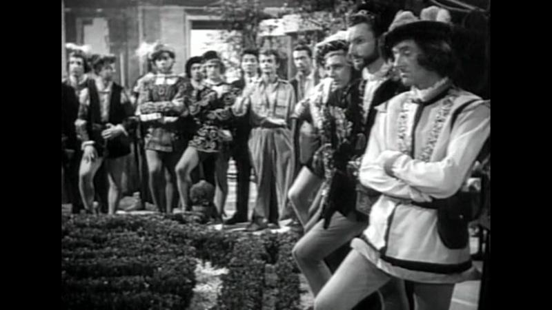 Любовники Вероны (Франция, 1948) Серж Реджани, Анук Эме, Пьер Брассер, режиссер Андре Кайат