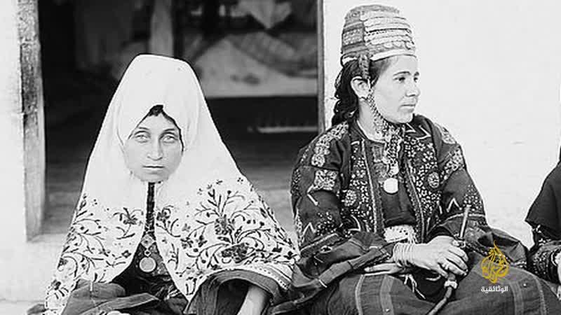Традиционная палестинская одежда - الأزياء التقليدية فلسطين