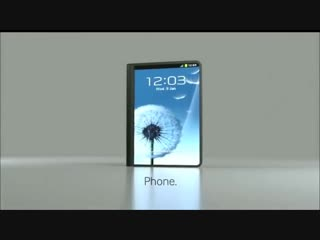 Samsung Flexible OLED Display Phone and Tab Concept
