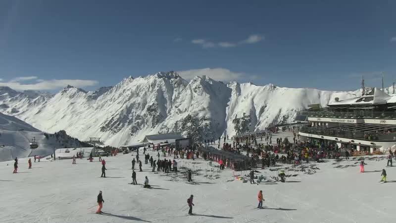 Австрия, горнолыжный курорт Ишгль, ресторан Idalp - Panorama