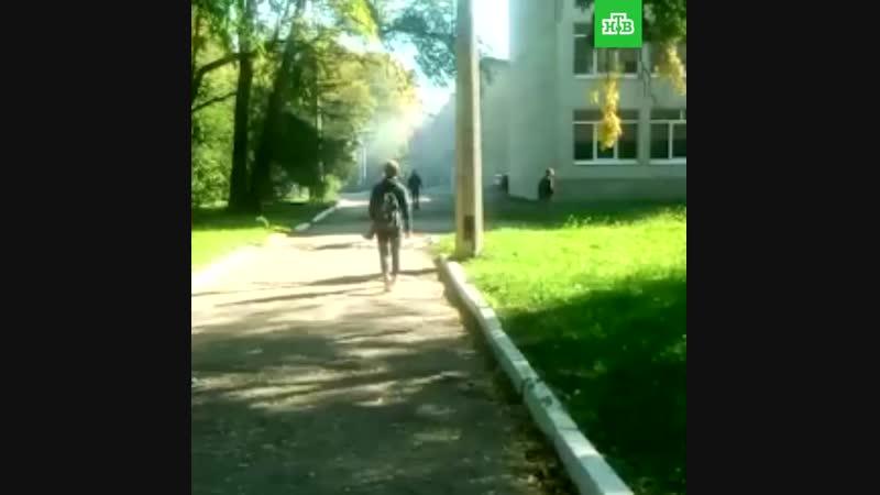 Начало атаки в керченском колледже Видео Ruptly