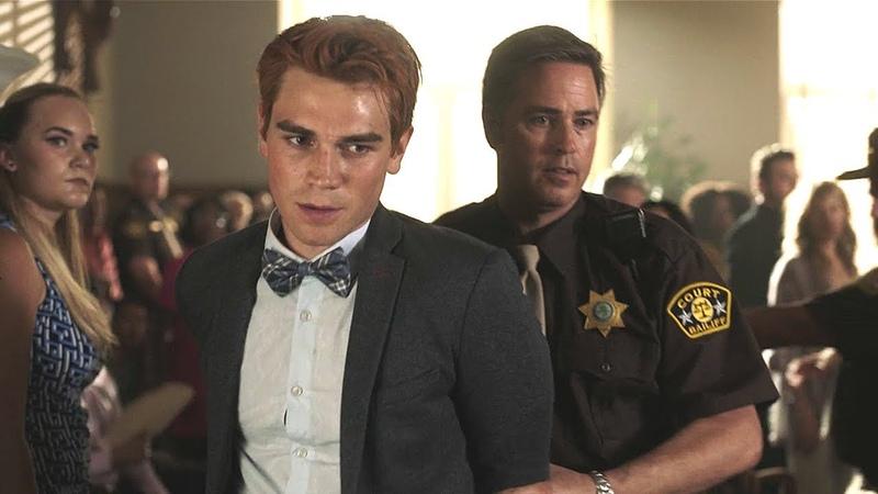 Riverdale 3x01 Archie confesses as guilty (2018) HD