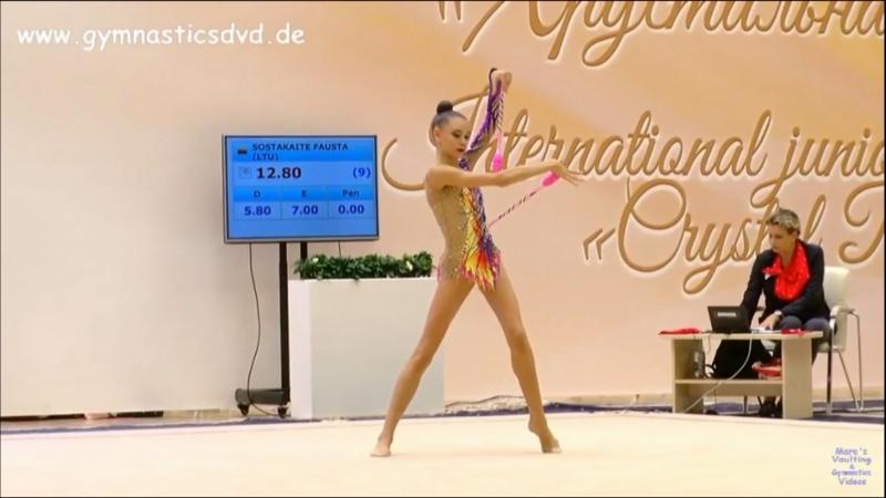 Дарья Трубникова — Булавы(командное многоборье)17.450