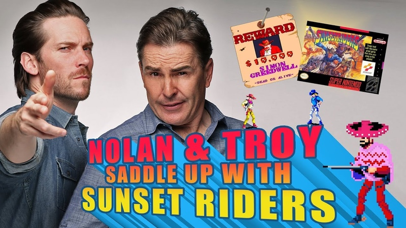 Nolan and Troy Saddle up with Sunset Riders