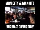 Реакция на голы манчестерского дерби в пабах Юнайтед и Сити(i_love.mufc)