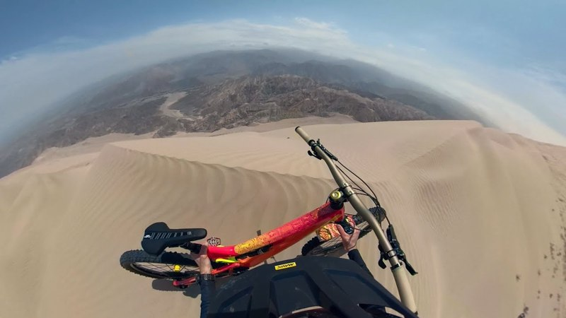 Mountain Biking on the World Highest Sand Dune | MISSION EP.1 | Kilian BRON