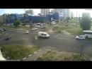 ДТП в Серпухове. Белый рванул на красный... 03 июня 2018.