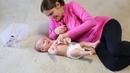 Развивающие занятия для детей до 3 месяцев УЗНАЕМ СВОЕ ТЕЛО