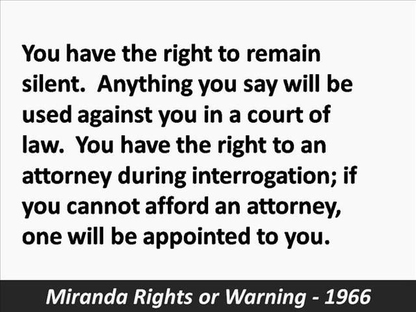 what must police do to comply with the miranda rule What must police do to comply with the miranda rule why did the miranda warning become the law for all united states citizens what is miranda.