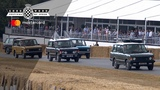 70 Land Rovers celebrate seven decades at FOS