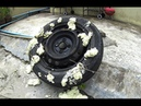 Emergency fix a flat tire by yourself using sealing compound, How to fix a flat tire EASY - Trailer