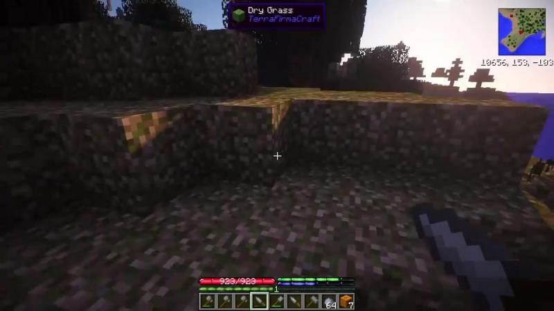 [Steamlynx] LetsPlay Minecraft 1.7.10 GregTech and TerraFirmaCraft - 002 Керамика и уголь!