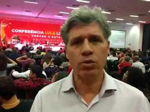 Paulo Teixeira fala sobre a batalha da comunicação contra a Rede Globo e demais meios golpistas.