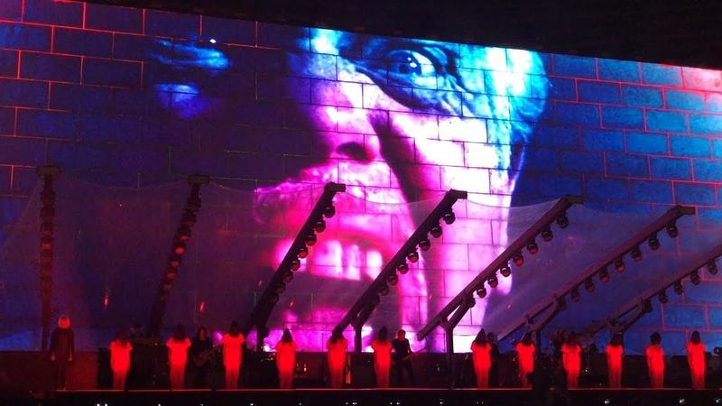 Another Brick In The Wall - legendado inglês/português - Roger Waters, São Paulo, 10-oct-18