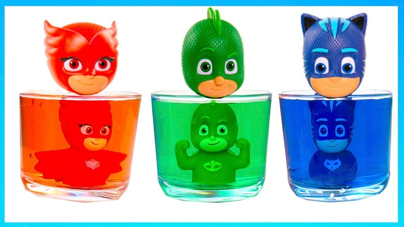 Learn colors with PJ Masks toys Blaze and the monster machines cars
