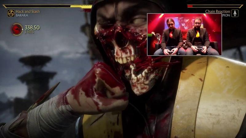Mortal Kombat 11 - Ketchup (Sub-Zero, Scorpion) vs Mustard (Baraka, Scorpion) exhibition set