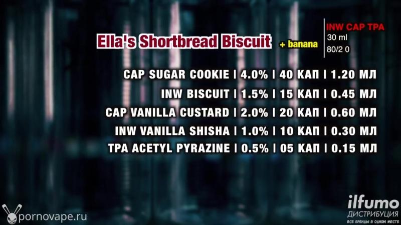 Пиратский самозамес печенек - ПРОСТОЙ РЕЦЕПТ - теперь банановый! Ellas Shortbread Biscuit