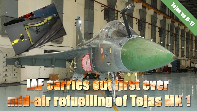 LCA Tejas MK 1 superior than Pakistan's JF-17 Mid-air refuelling