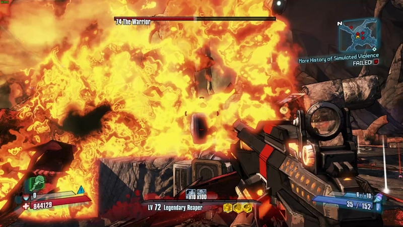 Borderlands 2 Warrior OP0 Gear HellBorn Krieg