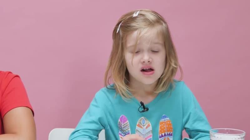Дети пробуют еду из СССР Рецепты Bon Appetit
