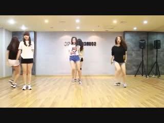 GFRIEND - Me gustas tu - mirrored dance practice video - 여자친구 오늘부í.mp4