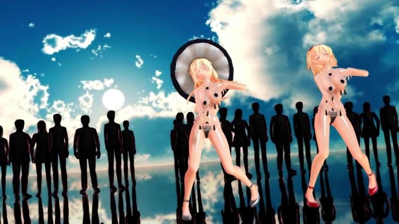 【東方MMD】かわいいアリスと魔理沙でMad Lovers【紳士向け】 (2)
