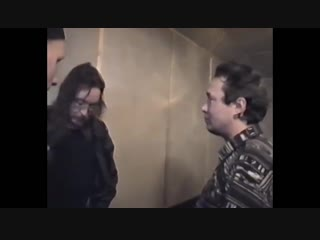 ✩ Игорь Тихомиров и Егор Летов после концерта Гражданской Обороны