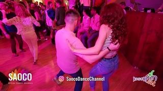 Alexandr Shabalkin and Svetlana Levchenko Salsa Dancing at Rostov For Fun Fest 2018, Fri 02.11.2018