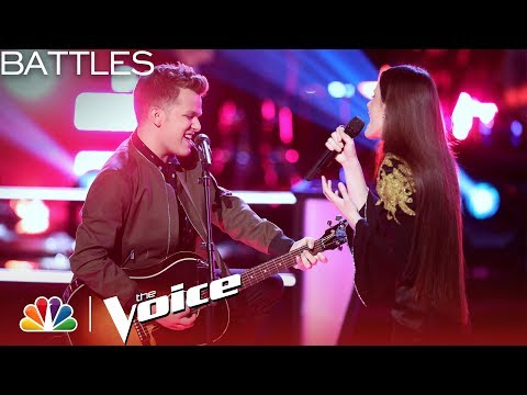 The Voice 2018 Battle - Britton Buchanan vs. Jaclyn Lovey Thinking Out Loud