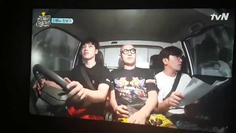 180417 xiumin_video EXO XIUMIN MINSEOK - tvN's variety show '4 Wheeled restaurant'